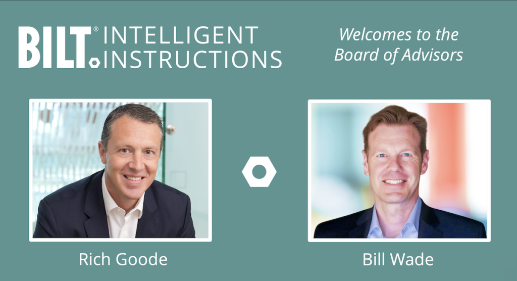 Rich Goode and Bill Wade featured as BILT Board of Advisors